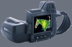 Infraroodcamera's geschikt voor veterinaire thermografie