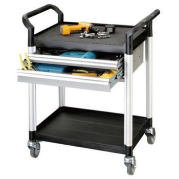 Trolley met 3 etages en 1 lade webshop irc for Ladeblok 1 lade
